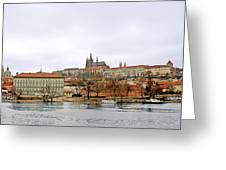 Die Moldau - Prague Greeting Card