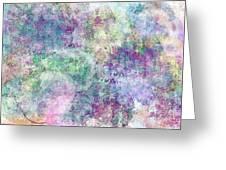 Digital Abstract II Greeting Card