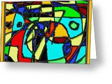 Digital Design 346 Greeting Card