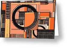 Digital Design 385 Greeting Card