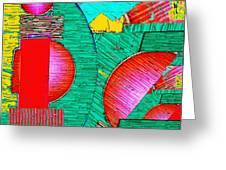 Digital Design 431 Greeting Card