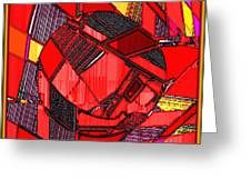 Digital Design 465 Greeting Card