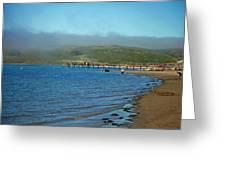 Dillon Beach Pier Greeting Card