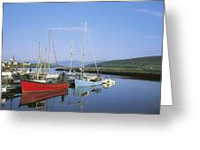 Dingle Peninsula, Dingle Harbour Greeting Card