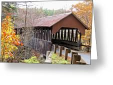 Dingleton Hill Covered Bridge Greeting Card