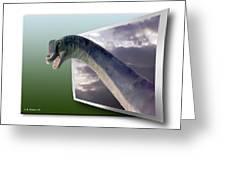 Dinosaur - Oof Greeting Card