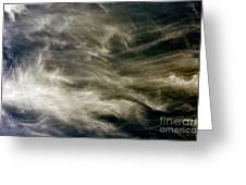 Dirty Clouds Greeting Card