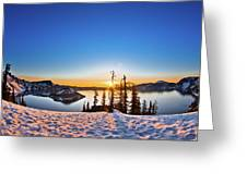 Discovery Point Sunrise Greeting Card