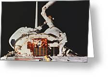 Discovery Spacewalk Greeting Card