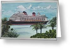 Disney Fantasy At Castaway Cay Greeting Card