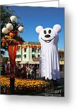Disneyland Halloween 1 Greeting Card