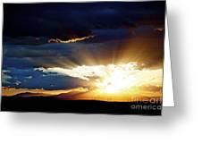 Distant Horizon Greeting Card