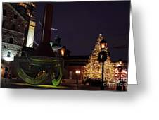 Distillery District Holiday Night Greeting Card