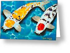 Ditsu Koi Greeting Card