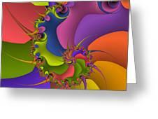 Diversion Deviazione Greeting Card