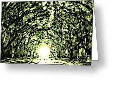 Divine Light Greeting Card