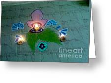 Diwali Rangoli Greeting Card