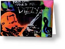 Dizzy Love Greeting Card