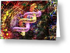 Dna Dreaming 5 Greeting Card