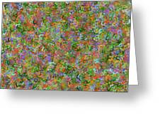 Dna Fragments Greeting Card