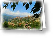Do-00547 Town Of Bcharre Greeting Card