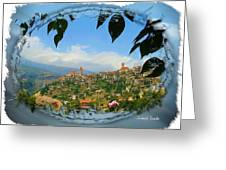 Do-00548 Town Of Bcharre Greeting Card