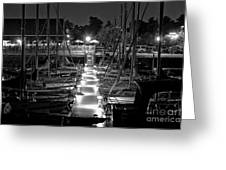 Dock  Quai Greeting Card
