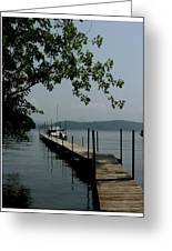 Docks End Greeting Card