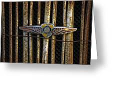 Dodge Brother Emblem Greeting Card