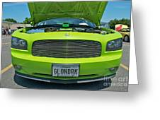 Dodge Charger Hemi  Greeting Card