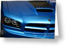 Dodge Charger Srt8 Super Bee Greeting Card