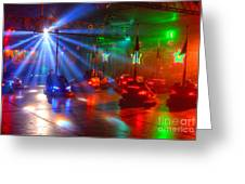 Dodgems Greeting Card
