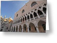 Doges Palace Off Piazza San Marco Or Greeting Card