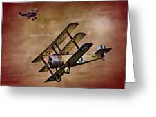 Dogfight 1918 Greeting Card