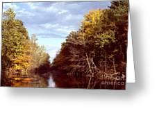 Dogleg Lake Greeting Card
