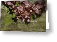 Dogwood Days Greeting Card
