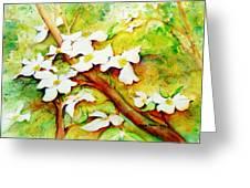 Dogwood Flowers Greeting Card