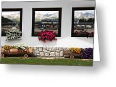 Dolomiti On Spring Greeting Card