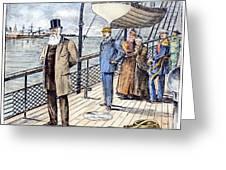Dom Pedro II (1825-1891) Greeting Card