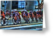 Dominguez Hill Bikes Greeting Card