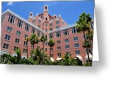 Don Cesar And Palms Greeting Card