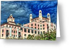 Don Cesar Hotel Greeting Card