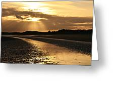 Donabate Beach Greeting Card