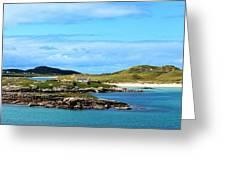 Donegal Coastline Near Bunbeg,co Greeting Card