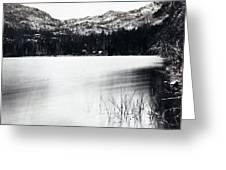 Donner Lake And Pass - California - C 1865 Greeting Card