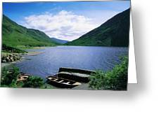 Doo Lough, Delphi, Co Mayo, Ireland Greeting Card