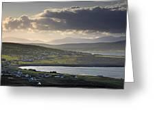 Dooagh, Achill Island, Co Mayo, Ireland Greeting Card