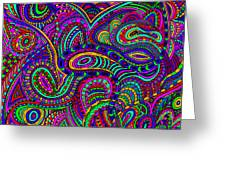 Doodle 1 Greeting Card