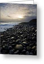Doolin, County Clare, Ireland Pebble Greeting Card
