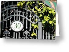 Door 30 Greeting Card